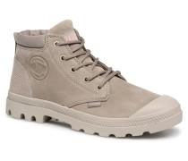 Low Cuff Lea W Stiefeletten & Boots in grün