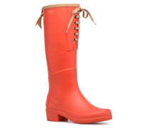 Miss Juliette L Stiefel in rot