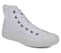 Chuck Taylor All Star Monochrome Canvas Hi W Sneaker in weiß