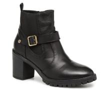 47364 Stiefeletten & Boots in schwarz
