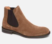SLHLOUIS SUEDE CHELSEA BOOT B Stiefeletten & Boots in braun