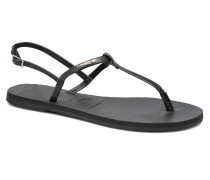 You Riviera Sandalen in schwarz