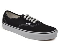 Authentic Sneaker in schwarz