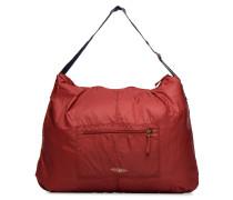 COLOR LINE SHOULDER BAG Handtasche in weinrot