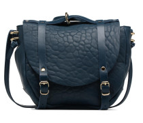 Sphere Cuir Bubble Handtasche in blau