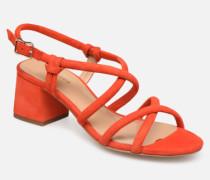 JADALINA Sandalen in orange