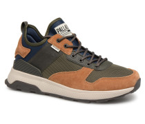 Axeon Army R M Sneaker in braun