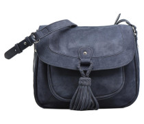 Fayth Suede Bag Mini in blau