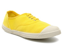 Tennis Lacets Sneaker in gelb
