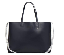 ICONIC TOMMY TOTE REVERSIBLE Handtasche in blau