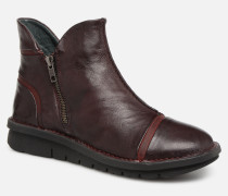 Polacco 5003 Stiefeletten & Boots in weinrot