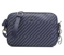SQUARE CROSSOVER BAG Handtasche in blau
