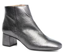 Craquel Stiefeletten & Boots in silber