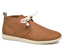 Stone mid cut oxyde Sneaker in braun