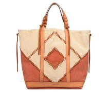 Cabas Moyen + Handtasche in braun