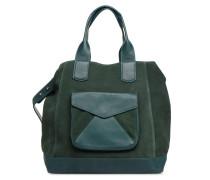 TOTE CUIR Handtasche in grün