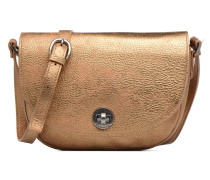 Flora collector Handtasche in goldinbronze
