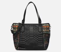 UNIQUE KAKI MAXTON Handtasche in mehrfarbig