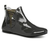 PATCHPRINT Stiefeletten & Boots in grau