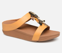 Fino Dragonfly Slide Clogs & Pantoletten in gelb