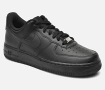 Wmns Air Force 1 '07 Sneaker in schwarz