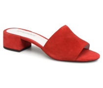 Donna Clogs & Pantoletten in rot