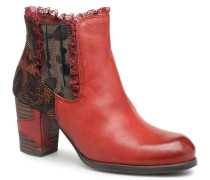 ANNA 01 Stiefeletten & Boots in rot