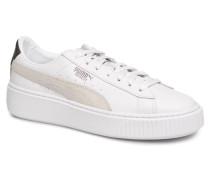 Platform Euphoria Sneaker in schwarz