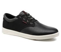 Jack & Jones JFWGASTON PU MIX Sneaker in schwarz