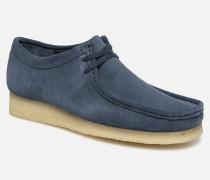Wallabee Schnürschuhe in blau