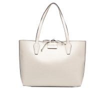 Bobbi Inside Out Tote Handtasche in weiß