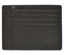 MARIUS Portepapiers 3 poches in schwarz
