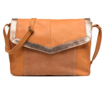 Isaura Leather Crossbody L Handtasche in braun