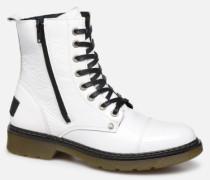 875M86551 Stiefeletten & Boots in weiß
