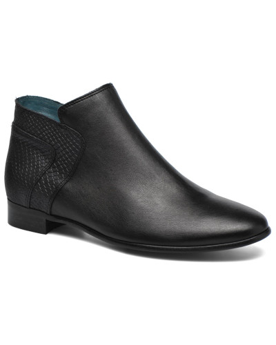48456703 JOTINI #Mult Vo Milled NOIR ~Doubl & 1ere CUIR Stiefeletten Boots in schwarz