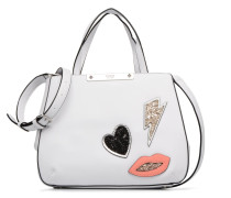 Britta Small Society Satchel Handtasche in weiß