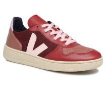 V10 W Sneaker in rot