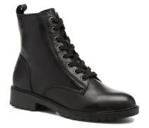 Officer Stiefeletten & Boots in schwarz