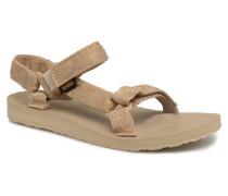 Original universal W Sandalen in beige
