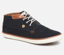 Wattle Suede C Sneaker in blau