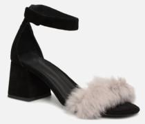 4212 Sandalen in schwarz