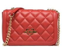 Sac matelassé bandoulière rouge JC4207PP05KA Handtasche in rot