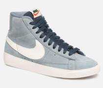 W Blazer Mid Vintage Suede Sneaker in grau