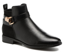 Bobby buckle bootie Stiefeletten & Boots in schwarz