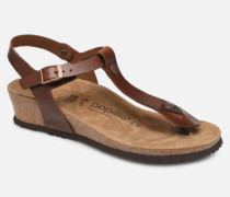 Ashley Cuir W Sandalen in braun