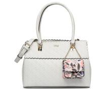 Rayna Satchel Handtasche in weiß