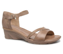 Paorla mohair taupe Sandalen in beige