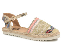 Tima Espadrilles in goldinbronze
