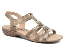 Leoni R3637 Sandalen in goldinbronze