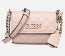 ELLIANA MINI CROSSBODY FLAP Handtasche in rosa